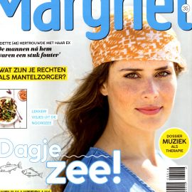 Magazine Margriet bij ons op het strand!