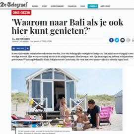 De Telegraaf brengt strandleven in beeld